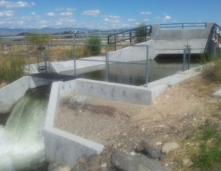 Kennedy Lateral Irrigation Structure