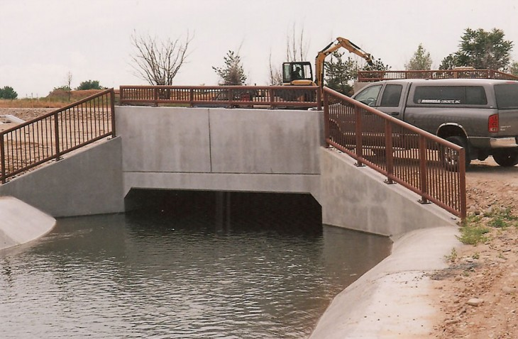 Ridenbaugh Canal Structure